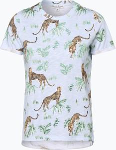T-shirt Marie Lund w stylu casual z okrągłym dekoltem