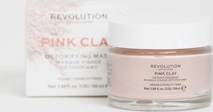 Revolution Skincare – Pink Clay – Detoksykująca maska do twarzy-Brak koloru