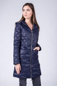 Niebieska kurtka QUIOSQUE w stylu casual