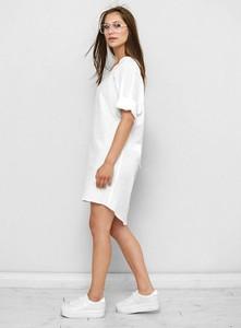 Sukienka Freeshion z tkaniny w stylu casual