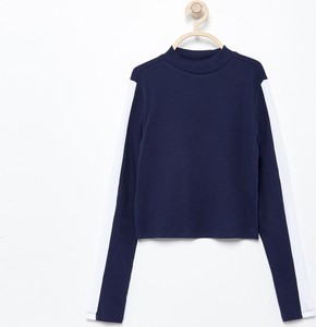 Granatowa bluzka dziecięca Reserved