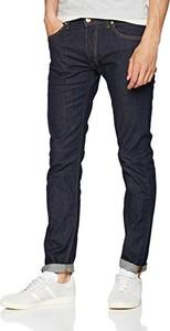Granatowe jeansy amazon.de z jeansu