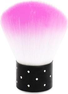 Em Nail Professional Pędzelek do-pyłu z cyrkoniami - różowy