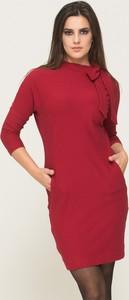 Czerwona sukienka VISSAVI