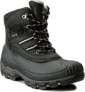 Szare buty trekkingowe kamik z tworzywa sztucznego