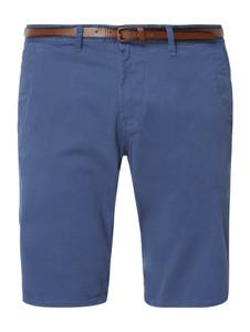 Niebieskie spodenki Tom Tailor z bawełny