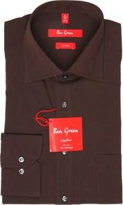 Koszula Ben Green z klasycznym kołnierzykiem z bawełny