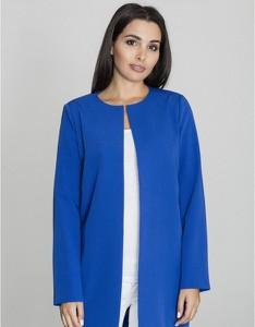 Niebieski płaszcz Figl w stylu casual
