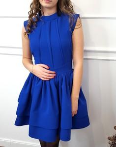 Niebieska sukienka Lamaja Butik