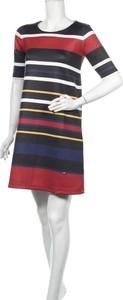 Sukienka Le Phare De La Baleine mini prosta w stylu casual
