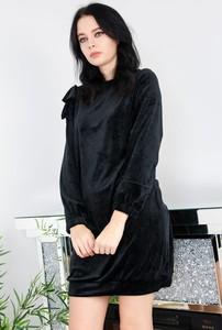 Czarna sukienka Olika mini