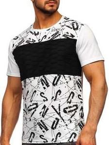 T-shirt Denley z nadrukiem w młodzieżowym stylu