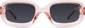Różowe okulary damskie Meller