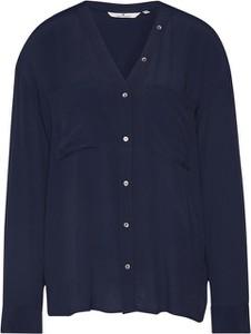 Niebieska koszula Tom Tailor z długim rękawem