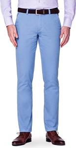 Niebieskie spodnie LANCERTO