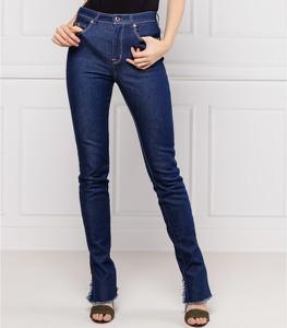 Niebieskie jeansy Versace Jeans z jeansu w stylu casual