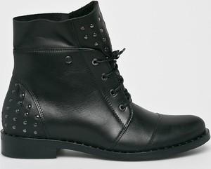Czarne botki Badura