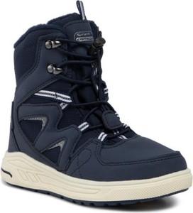 Buty dziecięce zimowe Sprandi Earth Gear sznurowane