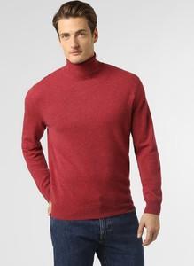 Czerwony sweter Andrew James z kaszmiru