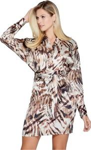 Sukienka Guess mini koszulowa