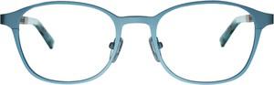 Niebieskie okulary damskie Woodys Barcelona