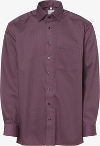Fioletowa koszula Olymp Luxor Comfort Fit z długim rękawem