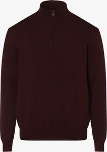 Czerwony sweter Andrew James z bawełny