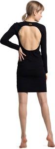 Czarna sukienka Lalupa mini bez rękawów