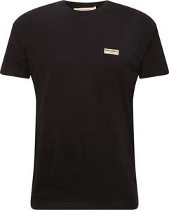 Czarny t-shirt Nudie Jeans Co z dżerseju