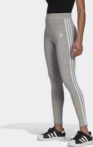 Spodnie Adidas w sportowym stylu z bawełny