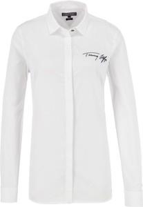 Koszula Tommy Hilfiger w street stylu z długim rękawem