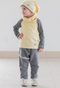 Żółty szalik dziecięcy Gapula