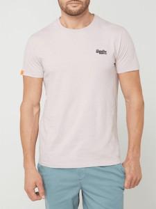 T-shirt Superdry z krótkim rękawem z bawełny w stylu casual