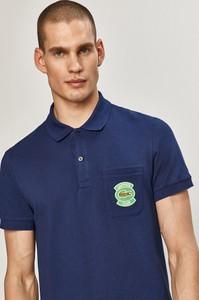 Niebieska koszulka polo Lacoste