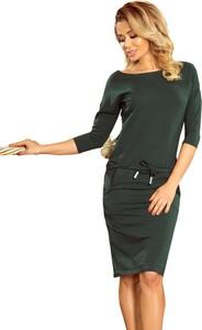 Sukienka NUMOCO z bawełny sportowa z długim rękawem