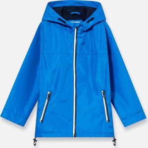Niebieska kurtka dziecięca Sinsay