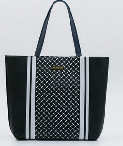 Czarna torebka Monnari w młodzieżowym stylu ze skóry ekologicznej na ramię