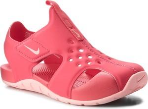 Różowe buty dziecięce letnie Nike