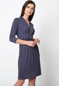 Niebieska sukienka QUIOSQUE mini