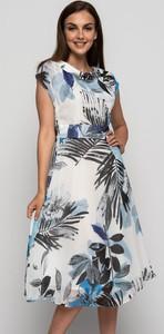 Sukienka Bialcon z krótkim rękawem