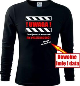 Koszulka z długim rękawem TopKoszulki.pl z długim rękawem w młodzieżowym stylu