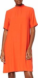 Sukienka amazon.de z golfem z krótkim rękawem
