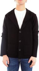 Czarny sweter Daniele Fiesoli z wełny