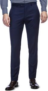 Niebieskie spodnie Giacomo Conti