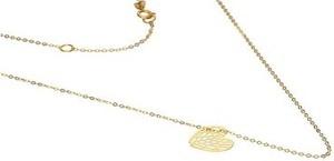 Lovrin Złoty naszyjnik 333 ażurowe serce 45 cm