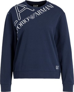 Bluza EA7 Emporio Armani w stylu casual krótka