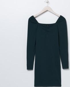 Sukienka Sinsay z długim rękawem mini prosta