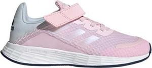 Buty sportowe dziecięce Adidas dla dziewczynek na rzepy duramo