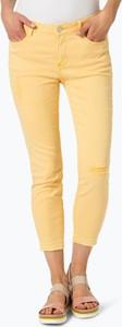 Pomarańczowe spodnie comma casual identity