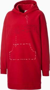 Czerwona sukienka Puma mini